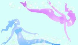「人魚姫」になりきって泳ぐ!? マーメイドスイミング